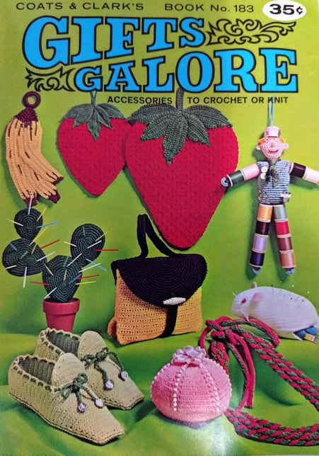 Front cover of Gifts Galore 1968 Coats and Clark Book No 183