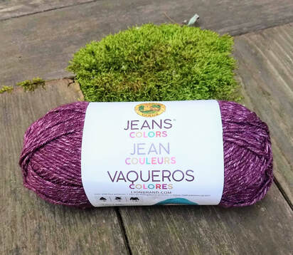 Lion Brand Jeans Colors Yarn Corduroy